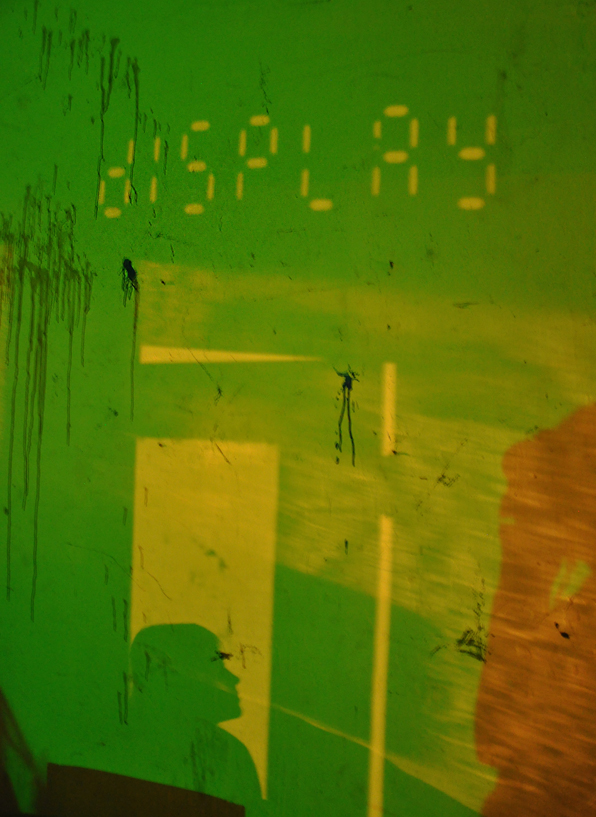 Display Gallery, Gainesville, Florida, Trash Rainbow