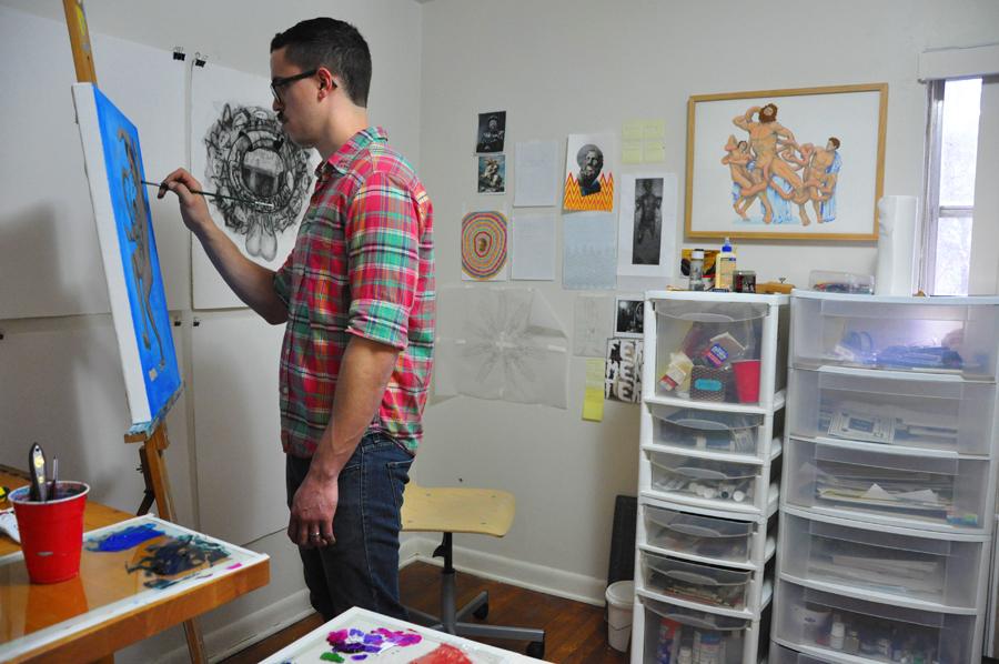 Victor Perez artist, Gainesville, Florida, Arts, Acrylic PAint, illustration